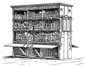 Chained library - Chained library in Hereford Cathedral