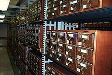 The Card Catalog at the Library of Congress