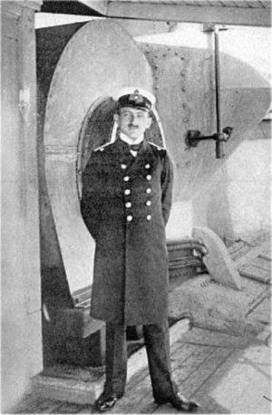 SS Kronprinz Wilhelm - Lieutenant Alfred von Niezychowski, author of The Cruise of the Kronprinz Wilhelm, the book about her 251 days as a commerce raider in World War I