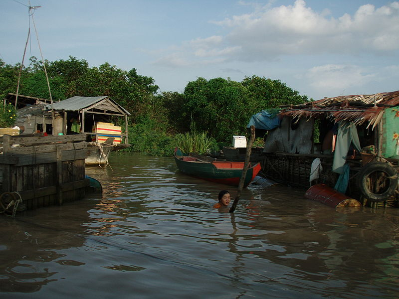 File:Life on the River, Cambodia.JPG