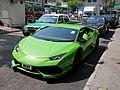 Light green bigger monster race car in Yuen Long.jpg