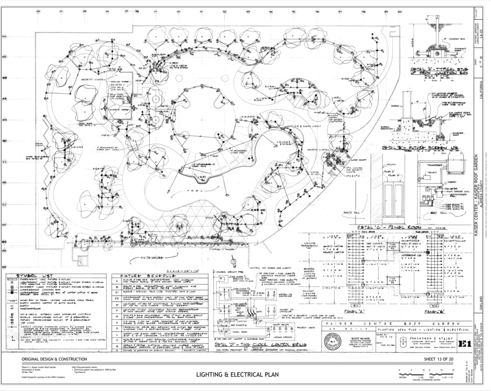 wiring house plans legend file lighting and electrical plan kaiser center  300  file lighting and electrical plan kaiser center  300