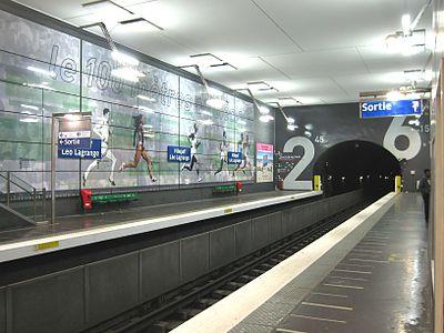 Villejuif – Léo Lagrange (Paris Metro)
