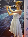 Lily Cao playing the western concert flute 20190713 04.jpg