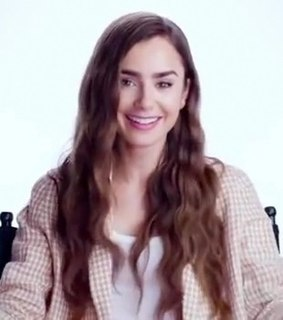 Lily Collins English actress and model