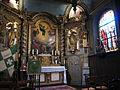 Limoges, Chapelle Saint-Aurélien, drapeaux des ostensions.jpg