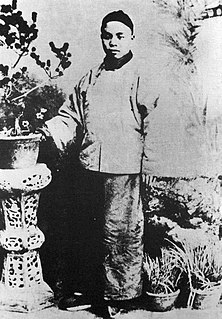 Chinese politician of Qing Dynasty