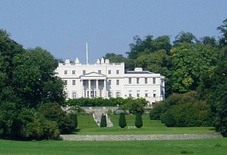 Linton Park - The house, seen from a distance