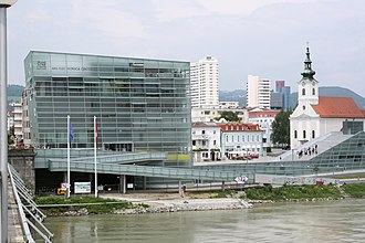 Ars Electronica - Ars Electronica Center by the Danube