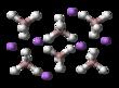 Litiumalumiinihydridi yksikkökenno- ja sauvamalli