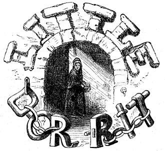 "Little Dorrit - Engraving of ""Little Dorrit"", 1856"