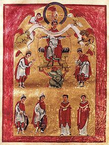 Cent ans et les poésies opportunes - Page 2 220px-Liuthar-Evangeliar