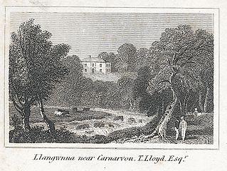 Llangwnna Near Carnarvon, T. Lloyd, Esqr