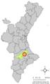 Localització d'Otos respecte del País Valencià.png