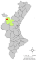 Localització de Titaigües respecte del País Valencià.png