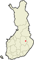 Location of Kaavi in Finland.png
