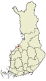 Location of Lohtaja in Finland.png