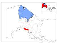 Location of Xo'jayli District in Qoraqalpog'iston.png