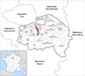 Locator map of Kanton Alfortville.png
