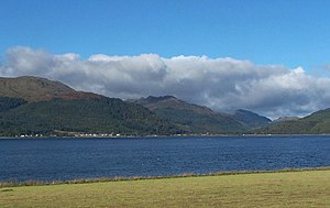 Loch Long - Looking across Loch Long to Ardentinny