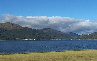 Loch Long - Looking across Loch Long to Ardentinny