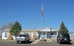 Lochbuie, Colorado - The Lochbuie Administration Building.