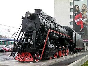 Balti jaam - Steam locomotive L-2317