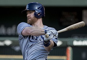 Logan Forsythe - Forsythe with the 2014 Tampa Bay Rays