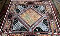 Loggetta del tempo, tavolo con piano intarsiato in pietre dure e disegni raffaelleschi 03.JPG