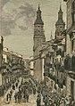 Logroño, paso del entierro del General Espartero por la calle del Mercado, Muñoz (cropped).jpg