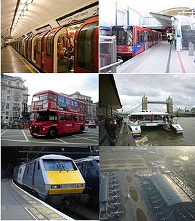 Transport in London Transport network serving London and surrounding regions