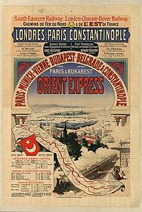 Londres-Paris-Constantinople...Orient-Express. Paris-Munich-Vienne-Budapest-Belgrade & Constantinople - service rapide sans changement de voiture, sans passeport... Hiver 1888-89.jpg