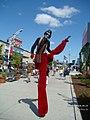 Long-legged clown, Exhibition, Toronto - panoramio.jpg
