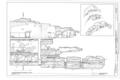 Longitudinal Section B Levels 3, 4, and 5 - Montezuma Castle, Off I-17, Camp Verde, Yavapai County, AZ HABS ARIZ,13-CAMV.V,1- (sheet 18 of 20).png