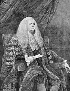John Dunning, 1st Baron Ashburton British politician