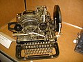 Lorenz T32 Teleprinter (Circa 1936) - The National Museum of Computing - Bletchley Park in Buckinghamshire, England.jpg