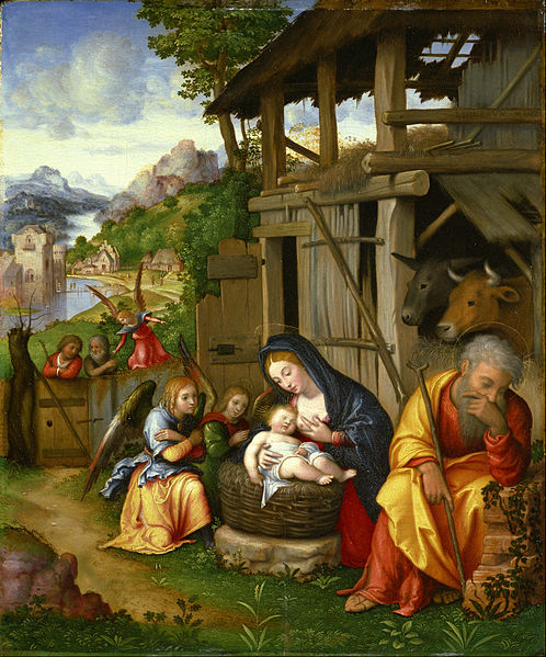 File:Lorenzo Leonbruno da Mantova - The Nativity - Google Art Project.jpg