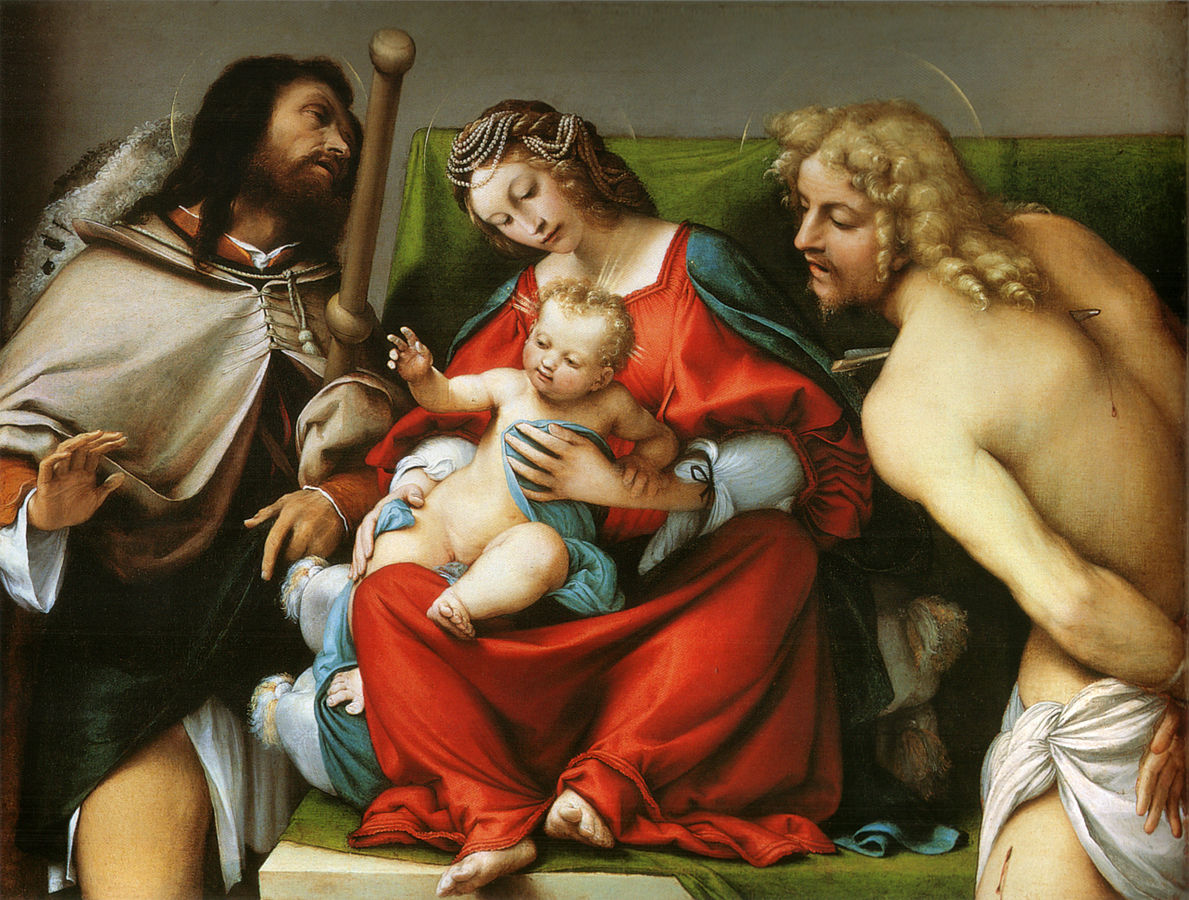 Madonna with the Child and Saints Roch and Sebastian