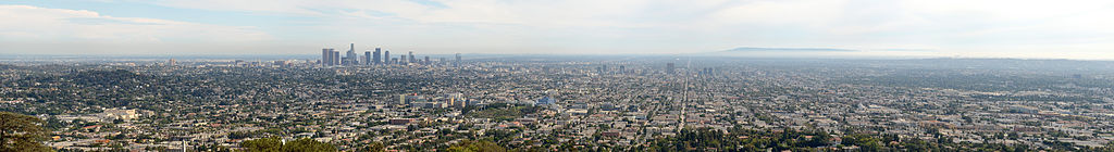 Los Angeles Panorama from Griffith Observatory 2013