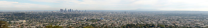 File:Los Angeles Panorama from Griffith Observatory 2013.jpg