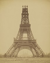 Louis-Emile Durandelle%2C The Eiffel Tower - State of the Construction%2C 1888