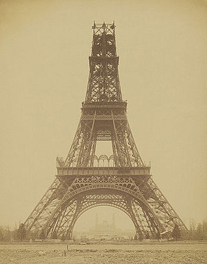 Louis-Emile Durandelle, The Eiffel Tower - State of the Construction, 1888