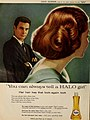 Louis Jourdan - 'You can always tell a HALO girl', 1959.jpg