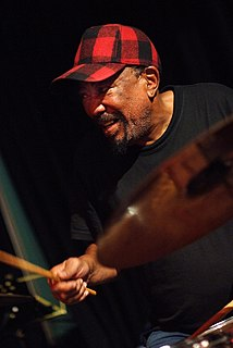 Louis Moholo South African jazz drummer