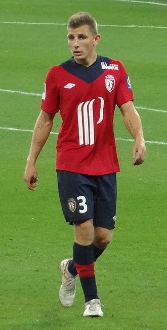 Lucas Digne - Digne playing for Lille in 2012