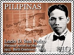 Lucio San Pedro 2013 stamp of the Philippines.jpg