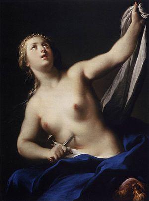 Lucretia (Casali) - Lucretia, by Andrea Casali