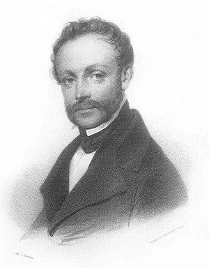 Friedrich Ludwig Persius - Ludwig Persius, in 1840, drawn by Friedrich Jentzen.