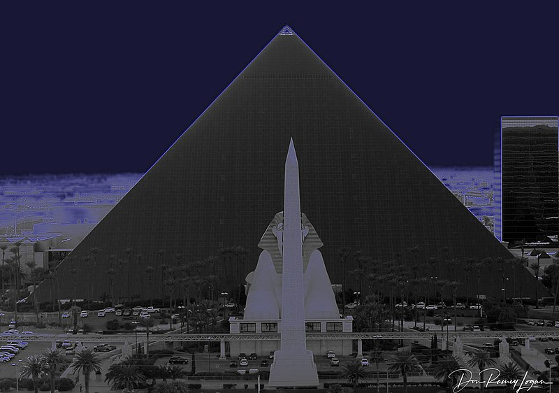 """Luxor Hotel, Las Vegas - from my """"ART"""" collection"""
