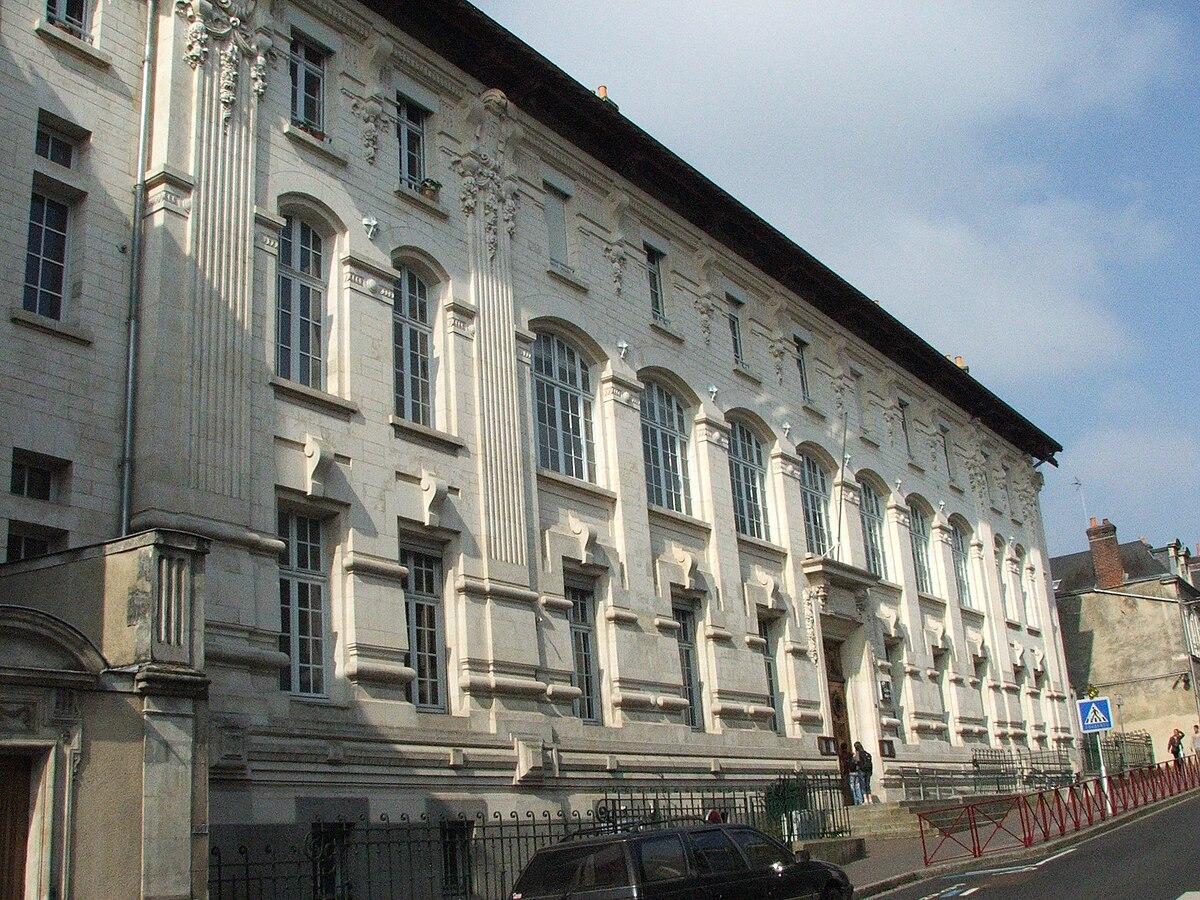 ancien lycée de jeunes filles du mans — wikipédia